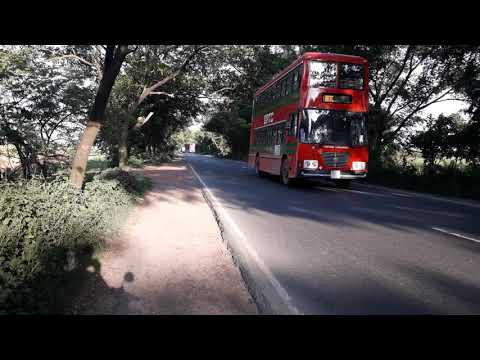 BRTC new bus Crusing on Rajshahi Road