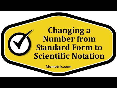 Standard Form To Scientific Notation Best Math Review
