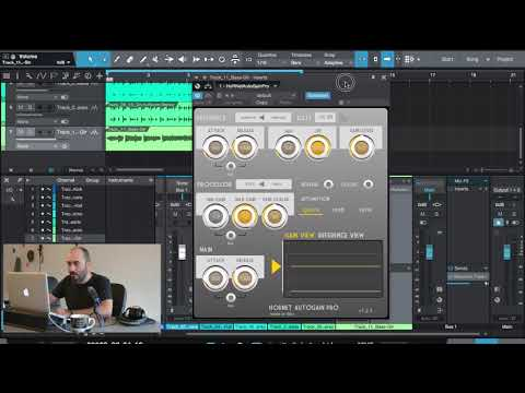 Tutorial AutoGain Pro with Presonus Studio One 4