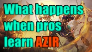 What Happens When Pros Try To Learn AZIR?