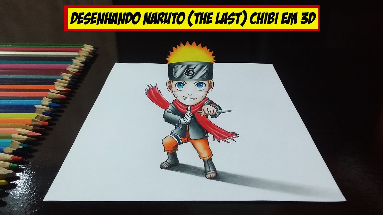 Speed Drawing Naruto The Last Chibi 3d Download Do