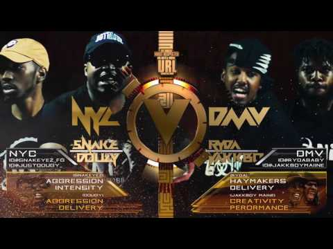 JAKK BOY MAINE/ RYDA  VS  SNAKE EYEZ/ DOUGY SMACK/ URL RAP BATTLE