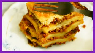 #KomalCooks Lasagna at Home! {Delhi fashion blogger}