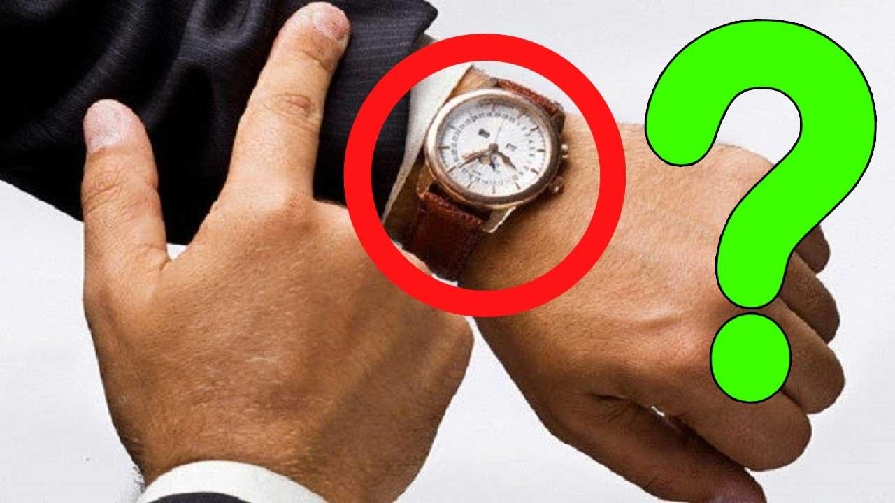 38def2f3d هل تعلم لماذا نرتدي الساعة في اليد اليسرى وليس اليمنى؟ - YouTube