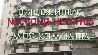 """Общежитие """"Nittono Heights""""/Моя комната в общежитии"""