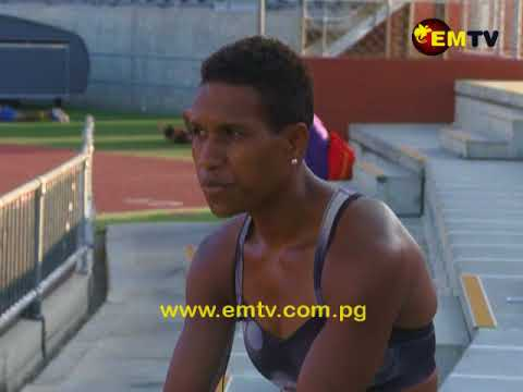 PNG 's Sprint Queen Toea Wisil says she is training hard for upcoming events