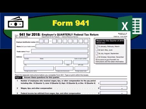 941 form tax calculator  Form 15 - Quarterly Payroll Tax Form - How Fill Out