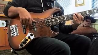 Marcus Miller V7 5 string TS jazz bass (unboxing) and a short out of the box test.
