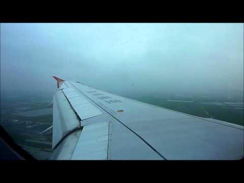 Shenzen Airlines / Air China Airbus A320 Landing at Wenzhou - Yongqiang International Airport