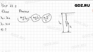 Упр 22.2 - Физика 9 класс Пёрышкин