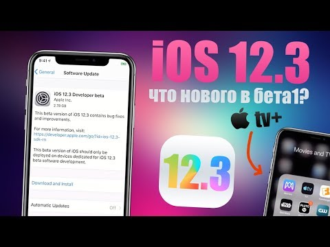 iOS 12.3 Developer Beta ! Вышла iOS 12.3 бета 1, что нового! Самый полный обзор iOS 12.3 Beta 1
