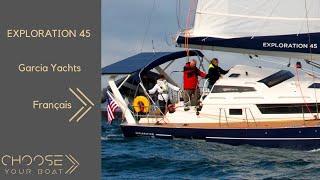 Garcia Exploration 45 de Garcia Yachting Vidéo de Visite Guidée (en français)