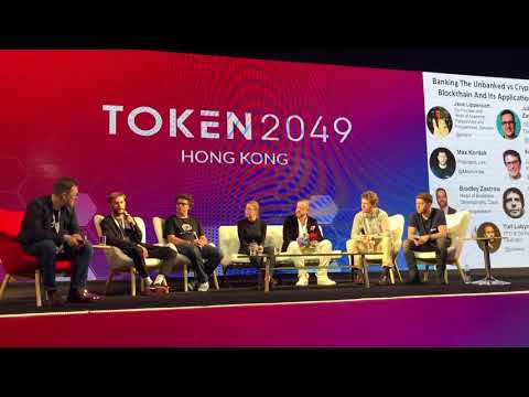 Bradley Zastrow of Dash at Token2049 in HK