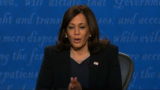 Pence, Harris spar over COVID-19 response in debate