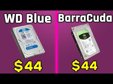Western Digital Blue vs Seagate BarraCuda (1 TB) - Comparison