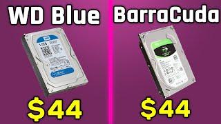 Western Digital Blue vs Seagate BarraCuda (1 TB) - Comparison