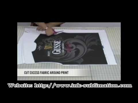 Step by Step of DIY t Shirt with Sublimation Transfer Paper.---GetWin Industrial Co.,LTD.