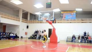 Баскетбол ПЛБЛ Конкурс бросков сверху 25.04.2015