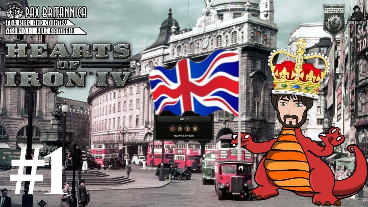 Rule Britannia! HOI4 Mod Spotlight: Pax Britannica #1