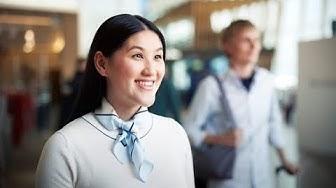 Näin käytät lähtöselvitysautomaattia lentoasemalla   Finavia