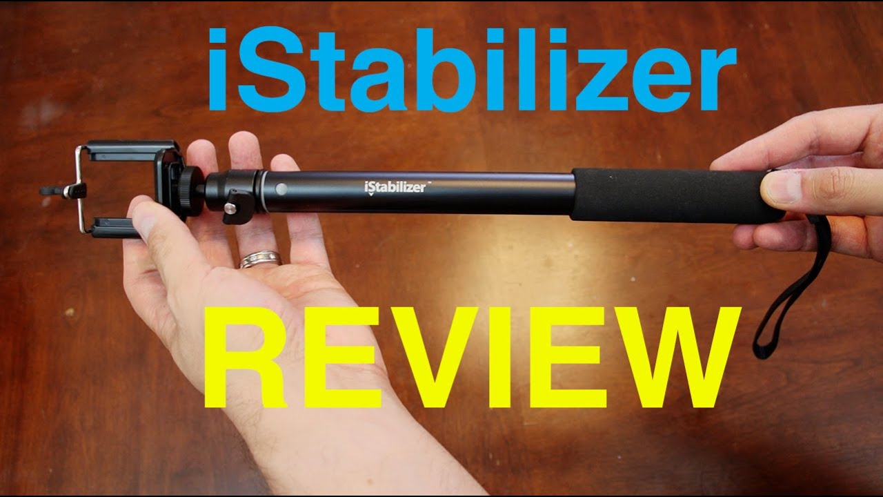 review istabilizer monopod for iphone and small cameras youtube. Black Bedroom Furniture Sets. Home Design Ideas
