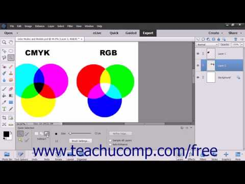 Photoshop Elements 15 Tutorial The Quick Selection Tool Adobe Training