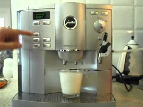 how to fix jura coffee machine making weak coffee