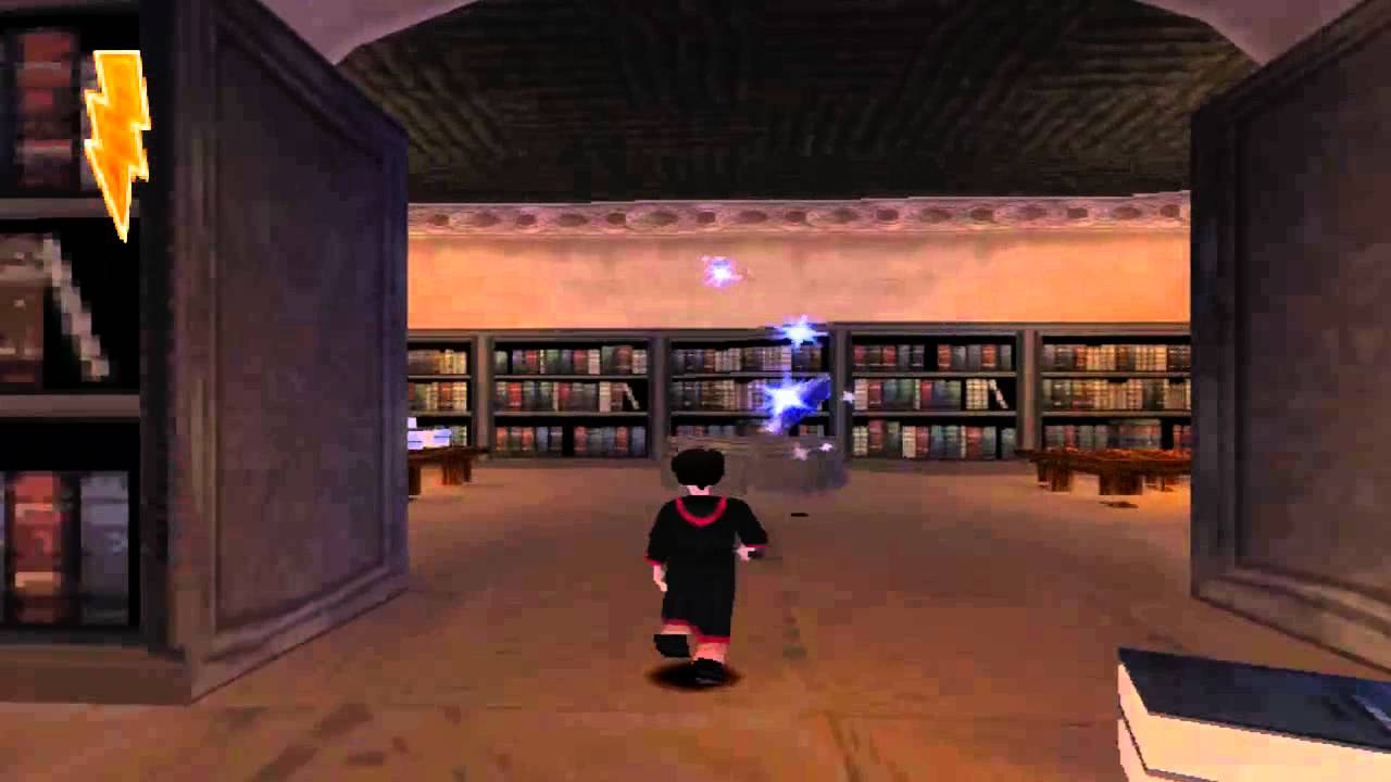 Harry Potter Y La Piedra Filosofal Ps1 Psx Gameplay Espanol