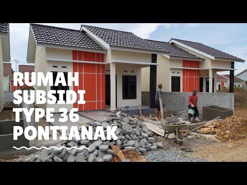 JUAL RUMAH MURAH TYPE 36 SUBSIDI PONTIANAK LOKASI PAL 7 ...