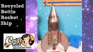 Soda Bottle Rocket ship- Recycle Craft!