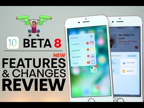 iOS 10 Beta 8 - New Features & Changes Review