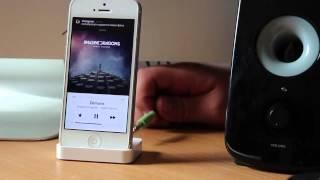 Обзор оригинальной док станции для iPhone 5 5S