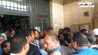 اعتصام الأوقاف يصل إلى مجلس الشعب
