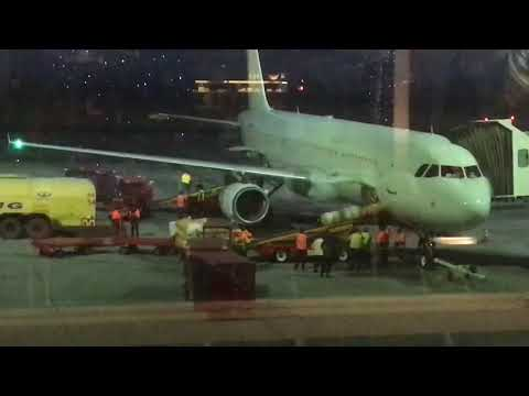 Airbus A321 Flight From Yerevan (Zvartnots) To Moscow (Sheremetyevo)