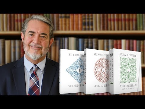 Scott Hahn talks about the Verbum Library