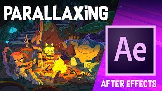 Parallaxe Hintergrund in Adobe After Effects