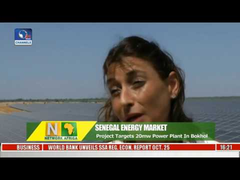 Network Africa: Senegalese President Flags Off Solar Based Enegy