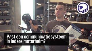 PAST EEN COMMUNICATIESYSTEEM IN IEDERE MOTORHELM