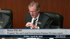 House Property Tax and Local Government Finance Division - part 2  4/20/18