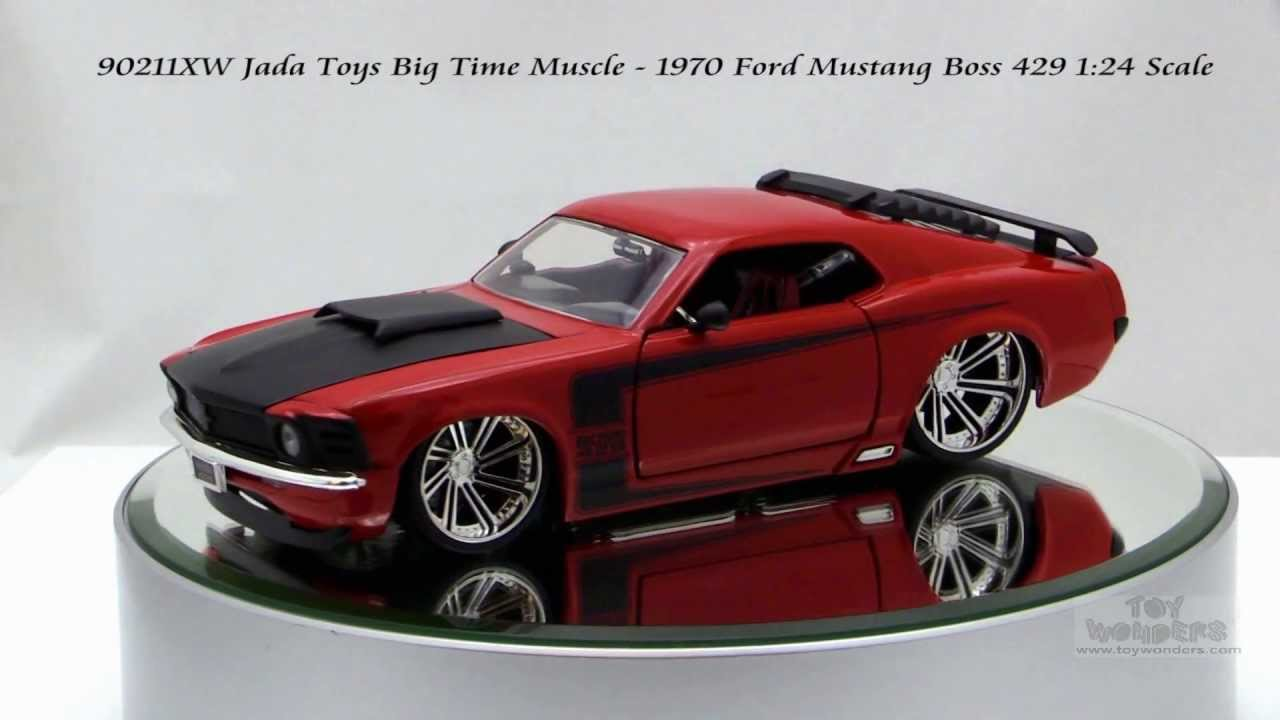 Jada Toys Big Time Muscle Ford Mustang Boss