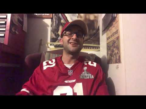 49ers fan reacts to trade for Broncos Wide Receiver Emmanuel Sanders!!