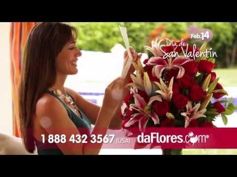 Flores para San Valentin - daFlores.com