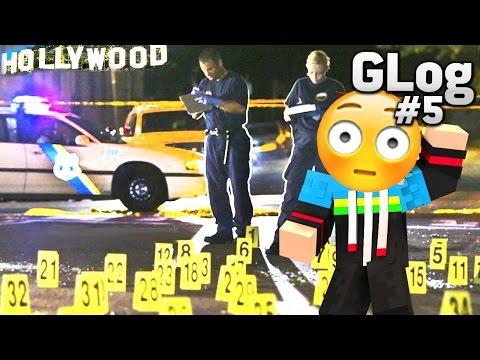 SCHIEßEREI + HOLLYWOOD - GLOG #5 [Gaming + Vlog I Minecraft FFA I Deutsch I HD]