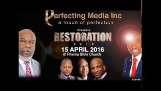 Restoration 2016 Bishop TD Jakes, Pastor Alph lukau