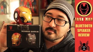 Marvel Iron Man Helmet Bluetooth Speaker Review