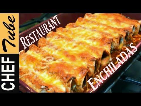 Restaurant – Style (Enchiladas): Enchiladas Recipe | Authentic | Fast | Best | Chimichangas