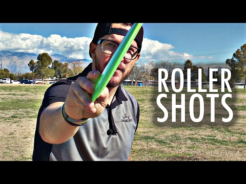 Eric Oakley Disc Golf Roller Shots