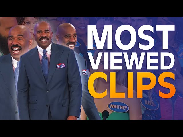 TOP 10 MOST-VIEWED MOMENTS EVER! | Family Feud