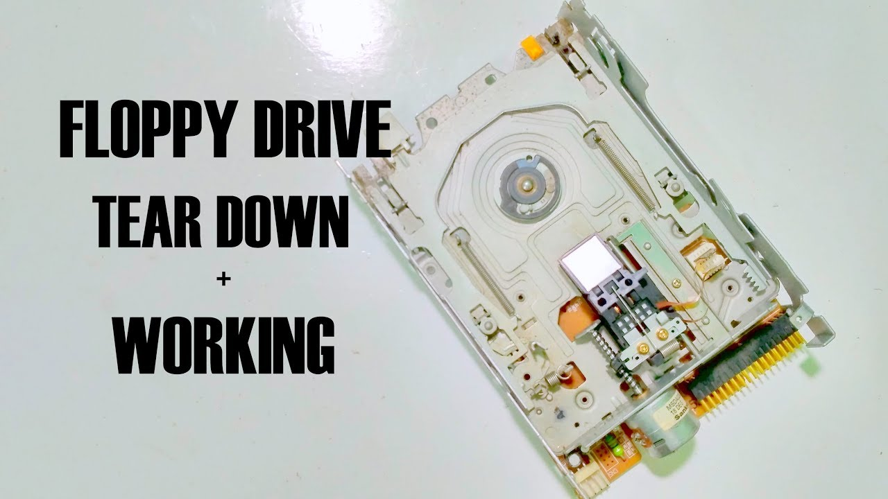 Drive Work How Old Floppy Disk Drives Work