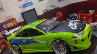 Unboxing Jada Toys Mitsubishi Eclipse GS 1995 Fast and Furious Paul Walker